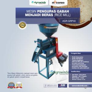 Jual Mesin Pengupas Gabah Menjadi Beras (Rice Mill) AGR-GRP40 di Malang