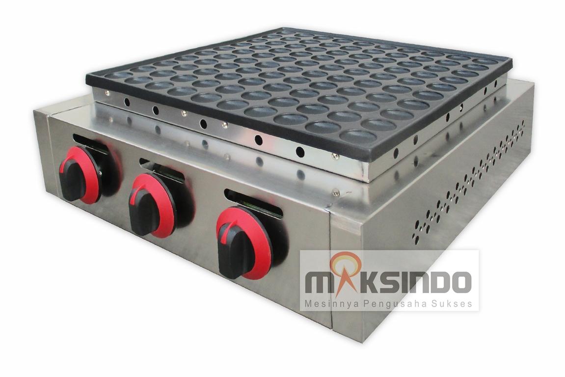 Jual Mini Pancake Poffertjes Gas 100 Lubang MKS-MPC100 di Malang