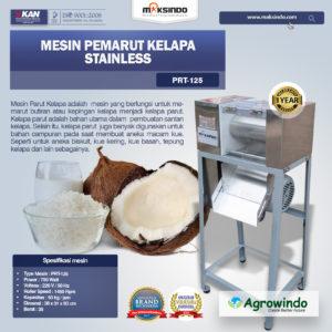 Jual Mesin Pemarut Kelapa Stainless PRT-125 di Malang