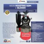 Jual Mesin Roasting Kopi + Blower LAFIRA05 di Malang