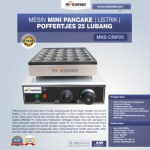 Jual Mesin Pembuat Snack MKS-CRIP25 di Malang
