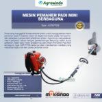 Jual Mesin Pemanen Padi Mini Serbaguna di Malang
