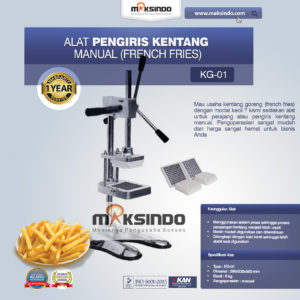 Jual Alat Pengiris Kentang Manual (french fries) di Malang