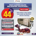 Jual Mesin Kambing Guling Double Location Roaster (GRILLO-LMB55) di Malang