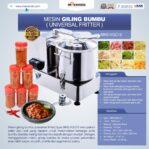 Mesin Giling Bumbu (Universal Fritter) MKS VGC12