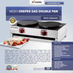 Jual Mesin Crepes Gas Double Pan (DE8Ax2) di Malang