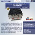 Jual Mesin Gas Waffle Taiyaki Open Mouth (GTYK31) di Malang