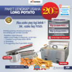 Jual Paket Mesin Long Potato Kentang Panjang di Malang