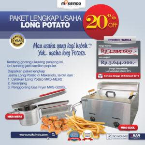 Jual Paket Mesin Long Potato Kentang Panjang di Malang