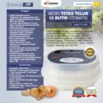 Jual Mesin Tetas Telur 12 Butir Otomatis – AGR-TT12PL di Malang