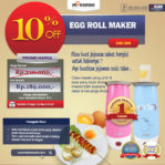Jual Egg Roll Maker (ARD-303) di Malang