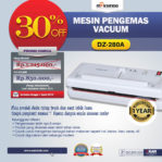 Jual Mesin Vacuum Sealer (DZ-280A) di Malang
