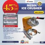 Jual Mesin Ice Crusher MKS-CRS30L di Malang