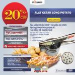 Jual Alat Cetak Long Potato MKS-LPCT30 di Malang
