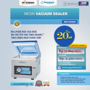 Jual Mesin Vacuum Sealer ( MSP-DZ260B) Di Malang