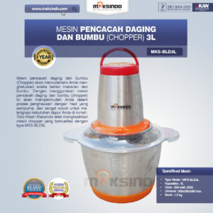 Jual Mesin Blender MKS-BLD3L Di Malang