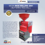 Jual Mesin Rice Milling 3in1 (Butterfly Rice Mill) AGR-BTFLY220 di Malang
