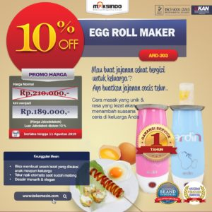 Jual Egg Roll Maker (ARD-303) di Malang