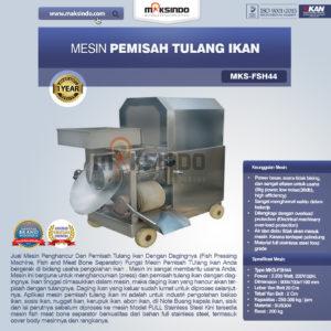 Jual Mesin Pemisah Tulang Ikan (FSH44) di Malang