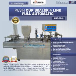 Jual Mesin Cup Sealer Otomatis 2 line dan 4 line di Malang