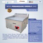 Jual Mesin Pemanggang Griddle (gas – elektrik) di Malang