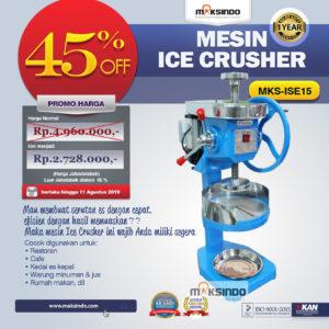 Jual Mesin Ice Crusher MKS-ISE15 di Malang