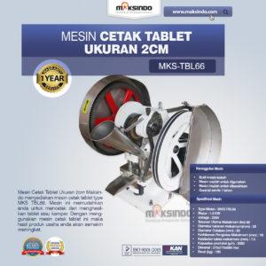 Jual Mesin Cetak Tablet Ukuran 2cm di Malang