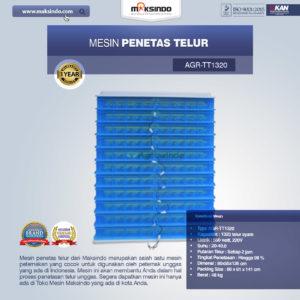 Jual Mesin Penetas Telur AGR-TT1320 Malang