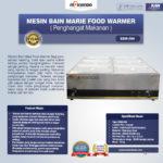 Jual Mesin Bain Marie Penghangat Makanan (EBM Type) di Malang