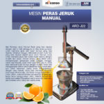 Jual Alat Pemeras Jeruk Manual ARD-J22 di Malang