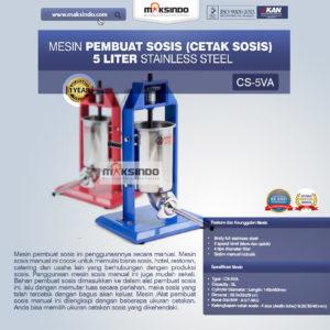 Jual Mesin Pembuat Sosis (Cetak Sosis) Stainless Steel di Malang