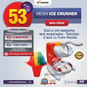 Jual Mesin Ice Crusher MKS-CRS30 di Malang