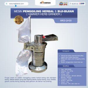Jual Penggiling Herbal dan Biji-Bijian (GH-30) di Malang