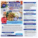 Training Sukses Membuat Mie Ayam Untuk Usaha, 22 September 2019