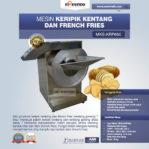 Jual Mesin Keripik Kentang dan French Fries KRP650 di Malang
