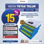 Jual Mesin Penetas Telur AGR-TT360 Di Malang