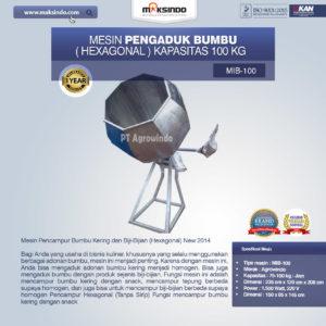 Jual Mesin Pengaduk Bumbu (Hexagonal) di Malang
