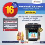 Jual Mesin Soft Ice Cream ICM766 (Panasonic Comp) di Malang