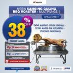 Jual Mesin Kambing Guling BBQ Roaster (GRILLO-LMB11) di Malang