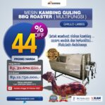 Jual Mesin Kambing Guling Double Location Roaster (GRILLO-LMB55) di Malang