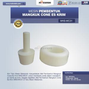 Jual Alat Pembentuk Mangkuk Cone Es Krim MKS-MC01 di Malang
