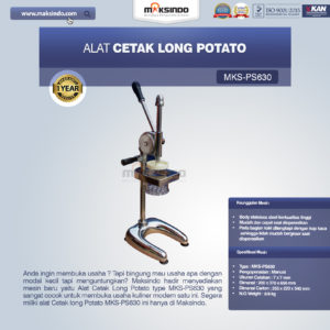 Jual Alat Cetak Long Potato MKS-PS630 di Malang