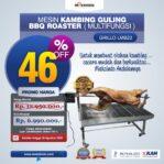Jual Mesin Kambing Guling BBQ Roaster (GRILLO-LMB22) di Malang