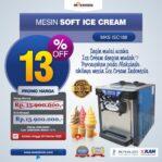 Jual Mesin Soft Ice Cream ISC-188 Di Malang