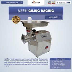 Jual Mesin Giling Daging MKS-MAT8 di Malang