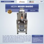 Jual Mesin Mixer Bakso MKS-MX4 Di Malang