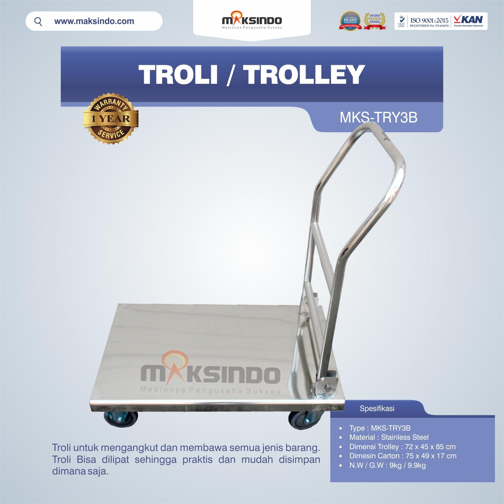 Jual Troli/Trolley MKS-TRY3B di Malang