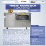 Jual Pembagi Adonan Bulat (Dough Divider) MKS-BA80 di Malang