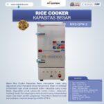 Jual Mesin Rice Cooker Kapasitas Besar MKS-GPN12 di Malang