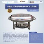Jual Oval Chafing Dish 5 Liter di Malang